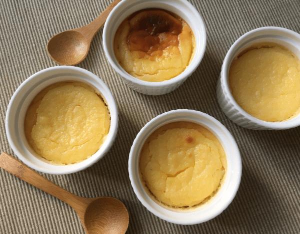 dolci con avanzi di polenta al formaggio e yogurt