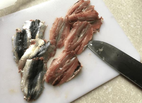 Zuppa con polpette di sardine (Tsumire jiru)