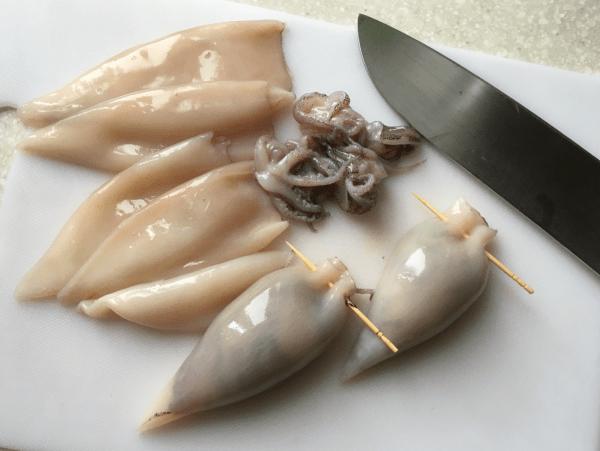 calamari sotto aceto