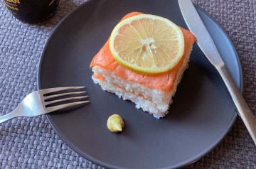 oshizushi di salmone affumicato