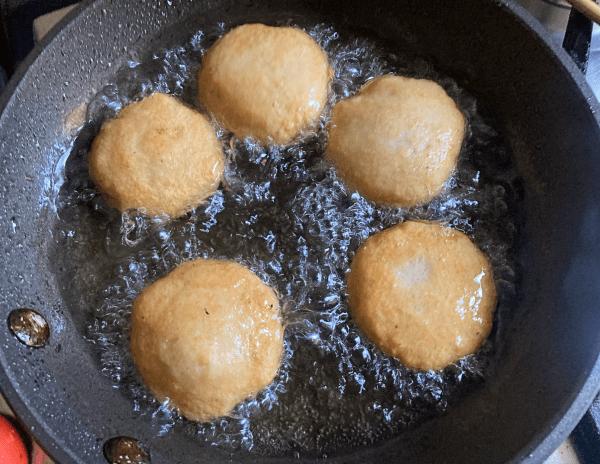 polpette fritte di pesce satsumaage