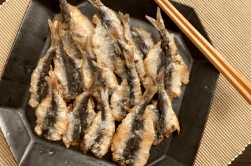 alici marinati e fritti
