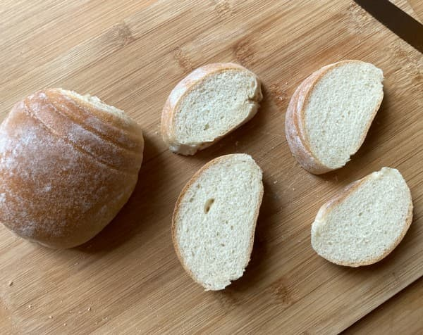 pane fritto con farina di soia tostata agepan kinako
